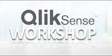 Qlik Sense Data Visualization Workshop (09 August 2019) tickets
