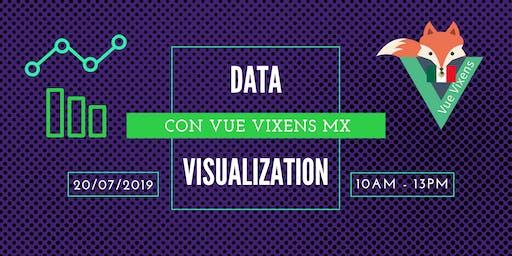 Data Visualization con Vue Vixens MX