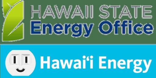 Training on Hawaii's 2015 IECC County Amendments and Envelope Design