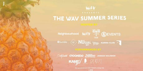 The Wav Summer Series: Boat Party tickets