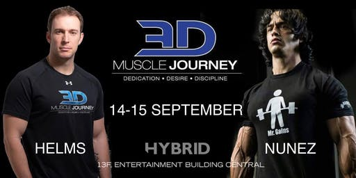 3DMJ seminar 2019 at Hybrid Hong Kong