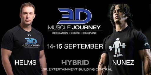 3DMJ seminar 2019 at Hybrid Hong Kong