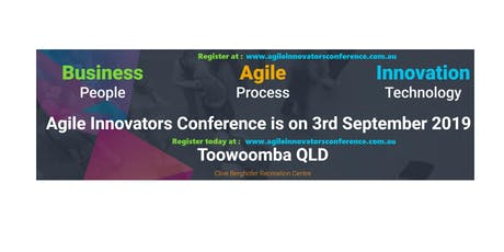 Agile Innovators Toowoomba Conference tickets