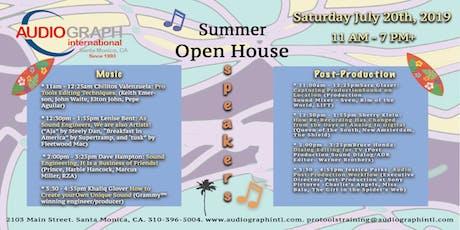 AGI's Summer Open House. tickets