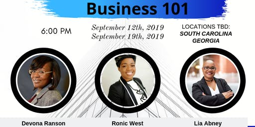 GABCC Presents Business 101 (South Carolina)