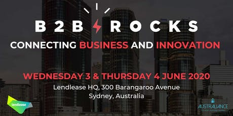 B2B Rocks 2020 tickets