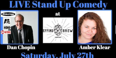 LIVE Stand Up Comedy at Effing Brew in Effingham tickets