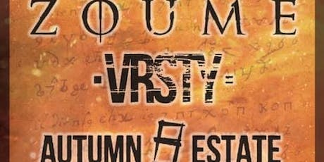 Zoume, Vrsty, Autmn Estate + more at Gold Sounds tickets