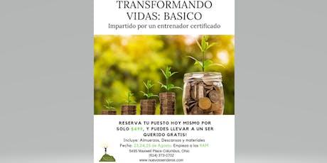 TRANSFORMANDO VIDAS: BASICO tickets