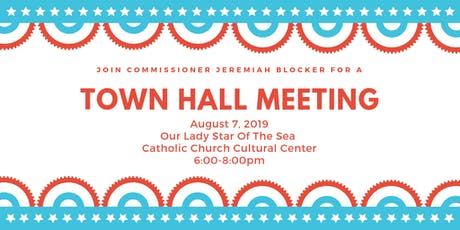 August Town Hall Meeting tickets
