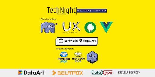 TechNight: UX + Web + Mobile | MercadoLibre