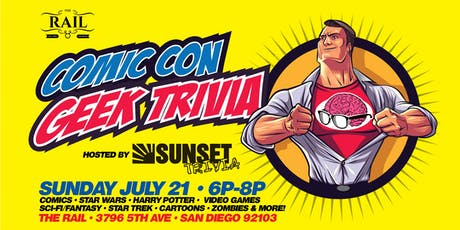 Comic Con Geek Trivia (All Your Favorite Topics!) tickets