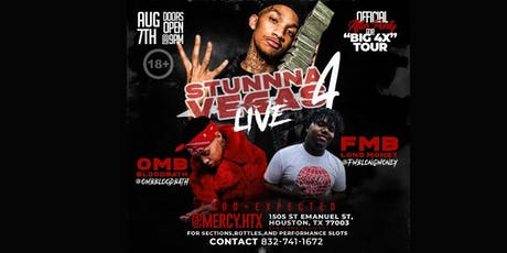 STUNNA4VEGAS @STUNNA4VEGAS LIVE at MERCY NIGHT CLUB !! AUGUST 11th FOR SECTIONS/PERFORMANCE TXT 8327411672 tickets