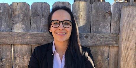 Meet Lorena Garcia, candidate for U.S. Senate tickets