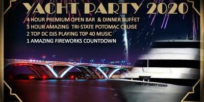 Gatsby's DC Fireworks New Year's Eve Yacht Party 2020