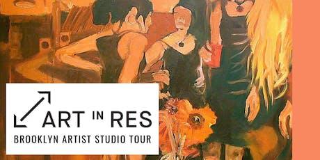 Art in Res: Brooklyn Artists Studio Tour tickets