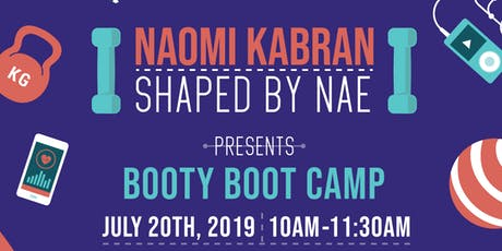 Naomi's BOOTY BOOT CAMP  tickets