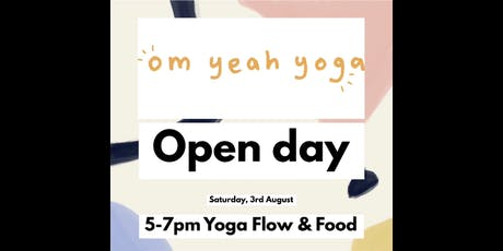"Om Yeah Yoga Open Day ""Flow and Food"" tickets"