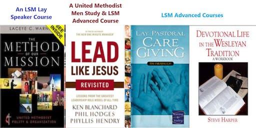 UMM/Lay Servant Ministries Training at Asbury UMC on 8/2/19