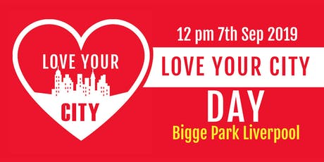 Love Your City Day 2019 tickets