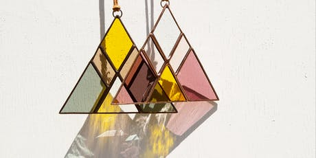 Mini-Portals Stained Glass Sun Catcher Workshop @ THE WATERLINE SB tickets