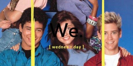 [ We. ] on Wednesdays tickets