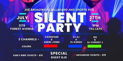 SILENT DISCO HEADPHONE PARTY
