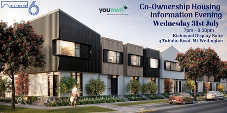 YouOwn Co-Ownership Information Evening - Richmond 6 tickets