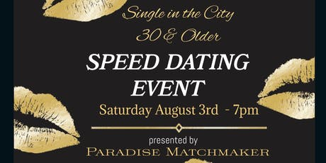 Single in the City SPEED DATING Event tickets