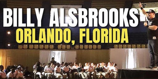 Blessed And Unstoppable! Billy Alsbrooks Success Seminar (Orlando, FL)