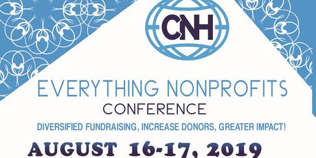 Everything Nonprofits Con19: The Ultimate Conference for Nonprofits  tickets