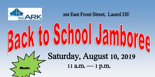 ARK 5th Annual Back to School Jamboree