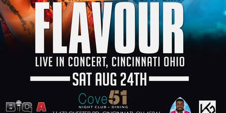 Flavour Performing Live in Cincinnati, OH tickets