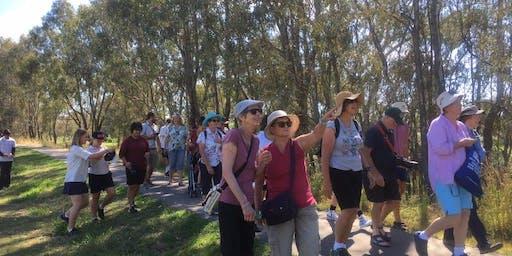 Seniors Spring Walk on Gateway Island