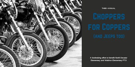 Choppers for Coppers Dinner & Music tickets