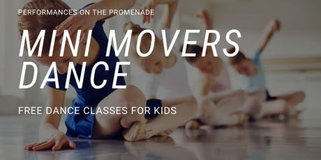 Mini Movers Dance for Kids at The Northshore Mall - Free mini classes tickets