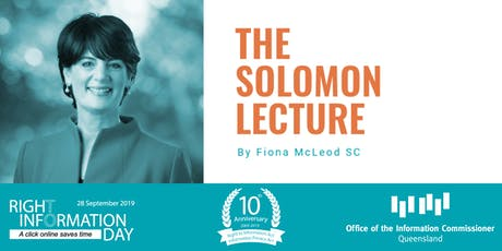 The Solomon Lecture tickets