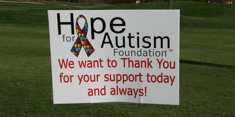 9th Annual Hope for Autism Golf tickets