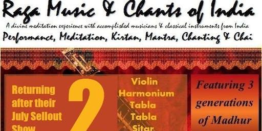 Raga Music & Chants of India 2 - Tauranga - At The Light Room