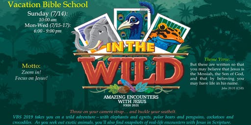 In The Wild - Kids Vacation Bible School