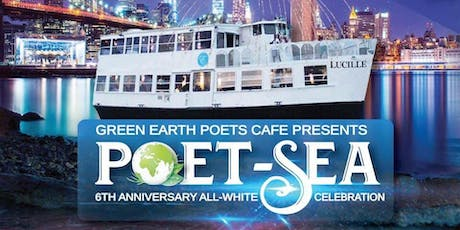 "Green Earth Poet-""SEA"" - All White Party Boat Dinner Cruise tickets"