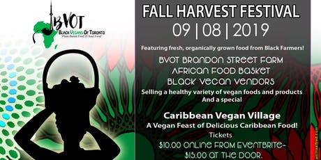 Black Vegans of Toronto Fall Harvest Festival tickets