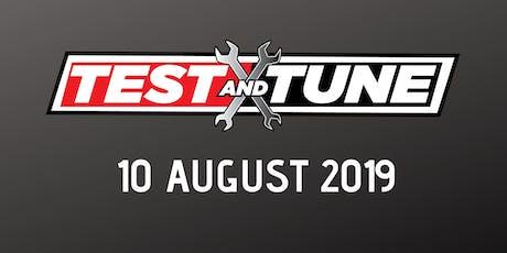 Test & Tune 10 August 2019 tickets