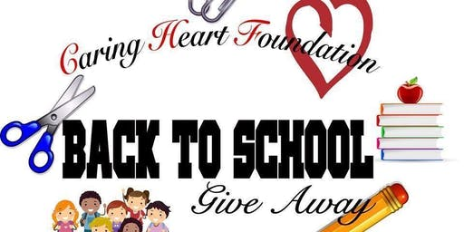 Caring Heart Foundation Back-To-School Giveaway!