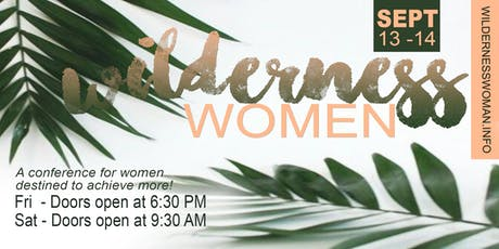 Wilderness Women | 2-DAY EXPERIENCE tickets