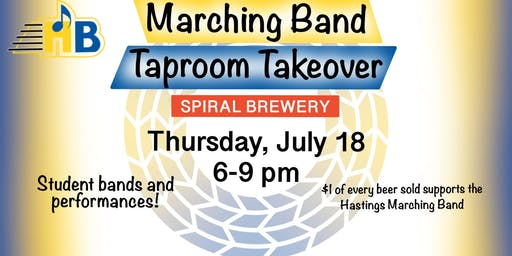 Marching Band Taproom Takeover at Spiral Brewery