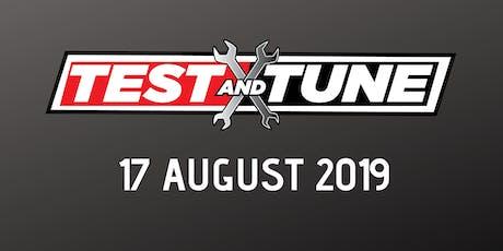 Test & Tune 17 August 2019 tickets