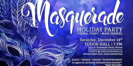 OTTAWA MASQUERADE HOLIDAY PARTY 2019 tickets