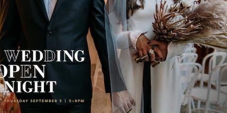 Wedding Open Night 2019 tickets