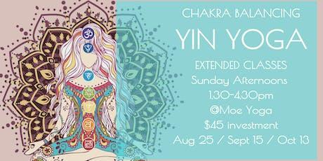 Yin Yoga Sunday Afternoon (October with Caroline) tickets